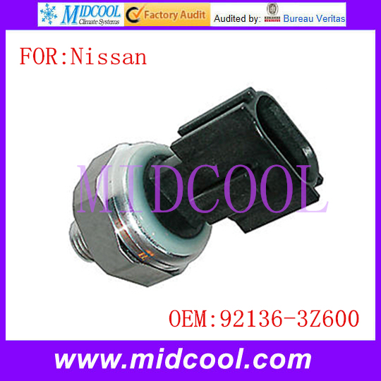 New AC Pressure Switch Sensor use OE NO. 92136-3Z600 for Nissan