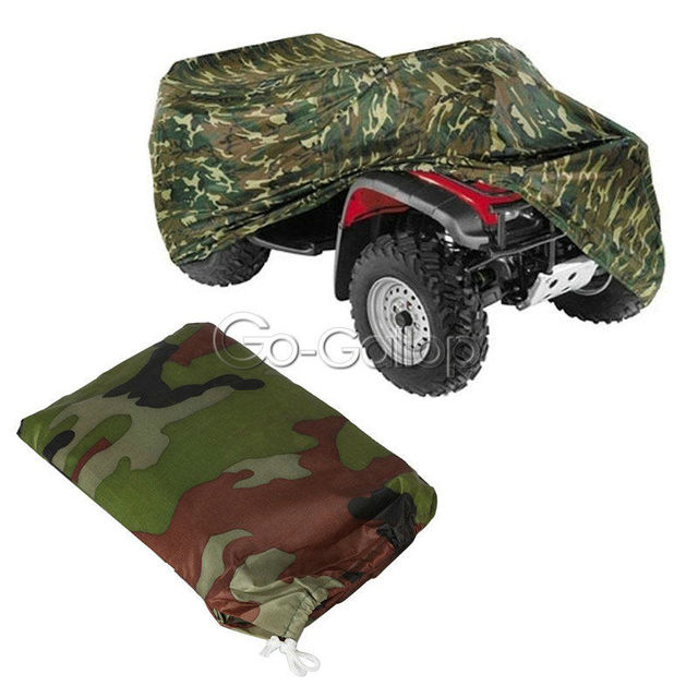 Camouflage Camo Xl Quad Bike Atv Storage 4 Wheeler Storage Cover For