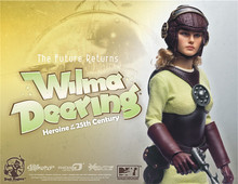 1/6 scale Super Flexible figure doll female Wilma Deering 12″ scale action doll Collectible Figure Plastic Model Toys