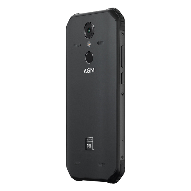"""OFFICIAL AGM A9 JBL Co-Branding 5.99"""" FHD+ 4G+64G Android 8.1 Rugged Phone 5400mAh IP68 Waterproof Smartphone Quad-Box Speakers"""