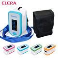 ELERA Portable Finger Pulse Oximeter With Pouch OLED Blood Oxygen Saturation Oximetro de Dedo Digital Pulsioximetro