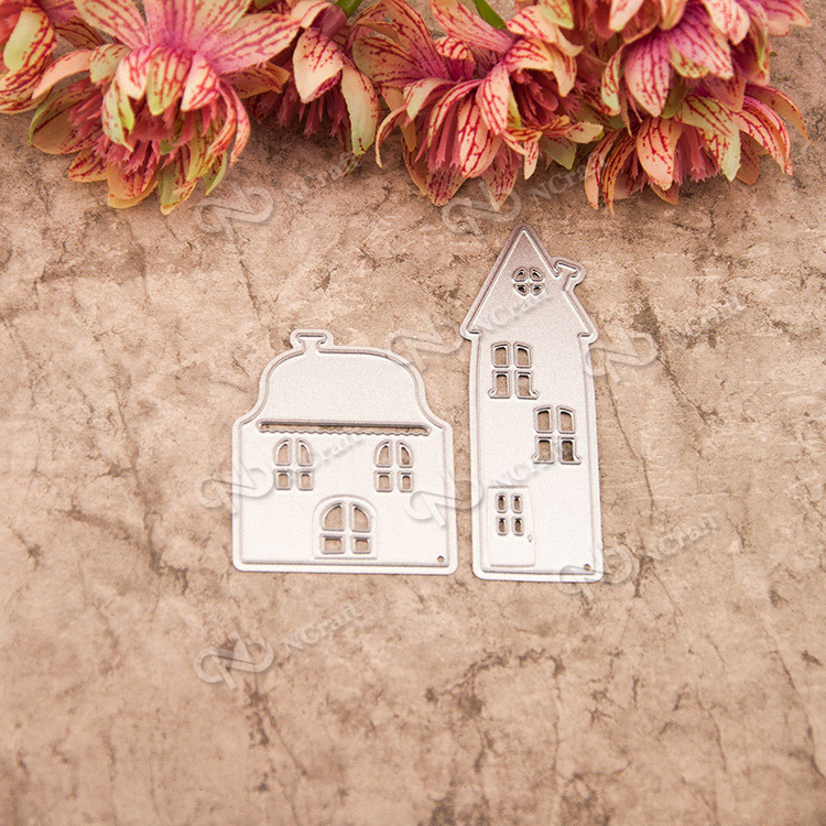 House Metal Cutting Dies Stencils for DIY Scrapbooking Photo Album Decorative Embossing DIY Paper Cards Making