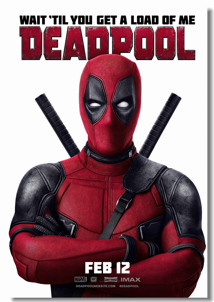 Custom Canvas Wall Art Marvel Deadpool Wallpaper Deadpool Poster
