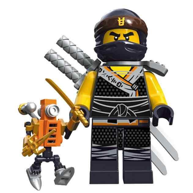 Ninjago Cole Zane Llyod Jay Zane Building Bricks Block Figure Toys Decool 10071 10076 Compatible With Lego