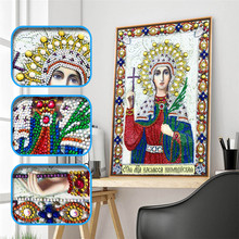 5d Diy Diamond Cross Embroidery Icon Character Crystal Mosaic Special Shaped Rhinestone
