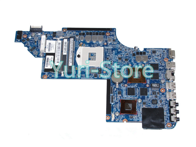 NOKOTION for hp pavilion DV6 DV6-6000 705188-001 laptop main board HD3000 2GB for hp pavilion dv6 6000 notebook dv6z 6100 dv6 6000 laptop motherboard 650854 001 main board ddr3 hd6750 1g 100%