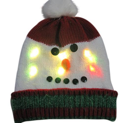 Г., 43 дизайна, светодиодный Рождественский головной убор, Шапка-бини, Рождественский Санта-светильник, вязаная шапка для детей и взрослых, для рождественской вечеринки - Цвет: 17