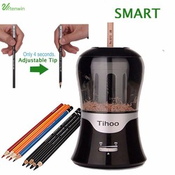 TENWIN Adjustable Lead Thickness Automatic Electric Pencil Sharpener 60T8017