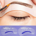 4 UNIDS Profesional Grooming Kit de Maquillaje de Cejas Plantillas Plantilla de La Ceja Maquillaje Ceja Stencil Herramienta de BRICOLAJE Accesorios VDN11 P45