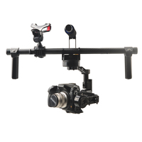 HG3D Universal Handheld 3 axis Brushless Gimbal Handheld Camera Mount Stabilizer Compatible with GH3 GH4 NEX5 A5000 6000 A7