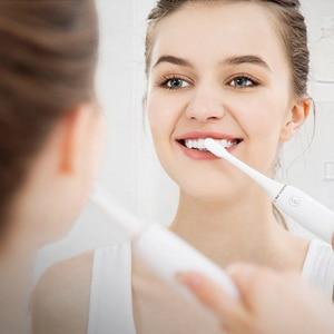 Image 2 - شاومي Mijia فرشاة الأسنان SOOCAS X3 سونيك فرشاة أسنان كهربائية الكبار مستشعر بالموجات فوق الصوتيّة مقاوم للماء التلقائي فرشاة أسنان USB قابلة للشحن
