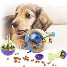 Creative Tumbler Pet Slow Feeder Ball Toy Cat Dog Treat Feeding Food Dispenser Interactive IQ Smart Training