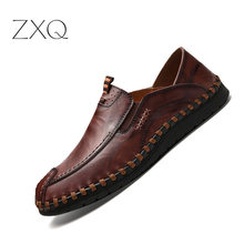 Luxury Design Sneakers Men Genuine Leather Shoes Flat Slip On Loafers High Quality Casual Shoes Men Moccasins Male footwear 2017 new high quality genuine leather men shoes fashion men s casual loafers shoes male slip on pointed flat shoes