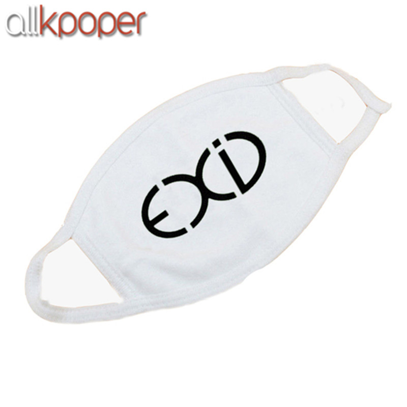 5PCs ALLKPOPER KPOP GOT7 Mouth Mask Cotton EXID Street Fashion Face Mask Respirator Winner Muffle