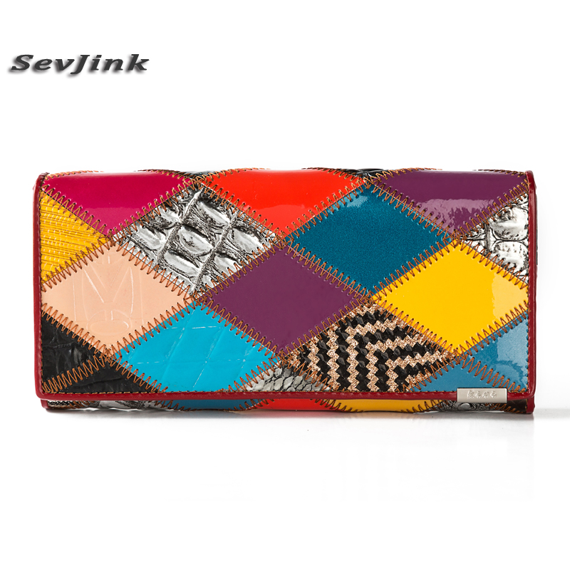 2017 fashion Genuine Leather Women Wallet Long Purse Vintage Solid Cowhide multiple Cards Holder Clutch Fashion Standard Wallet famous brand 2017 genuine leather women wallet long purse vintage solid cowhide multiple cards holder clutch carteira feminina