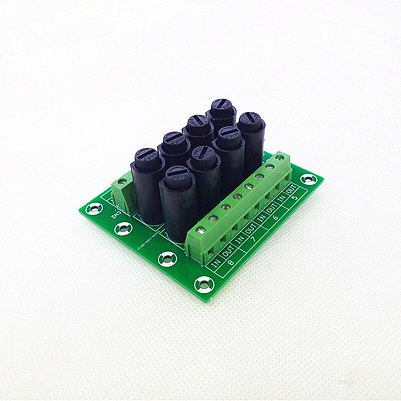 Fuse Module,8 Channel Fuse Power Distribution Module Board.