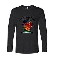 2017 Best Gift For Friend Heavy Metal Rock Funny Long TShirts Long Sleeve T Shirt Men