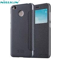For Xiaomi Redmi 4X Cover 5 0 Redmi 4 X PU Leather Case NILLKIN Hard PC