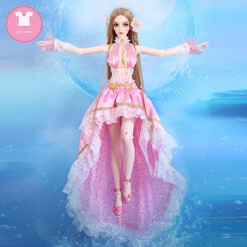 Женское платье, красивая кукольная одежда, аксессуары для одежды|Куклы|   | АлиЭкспресс