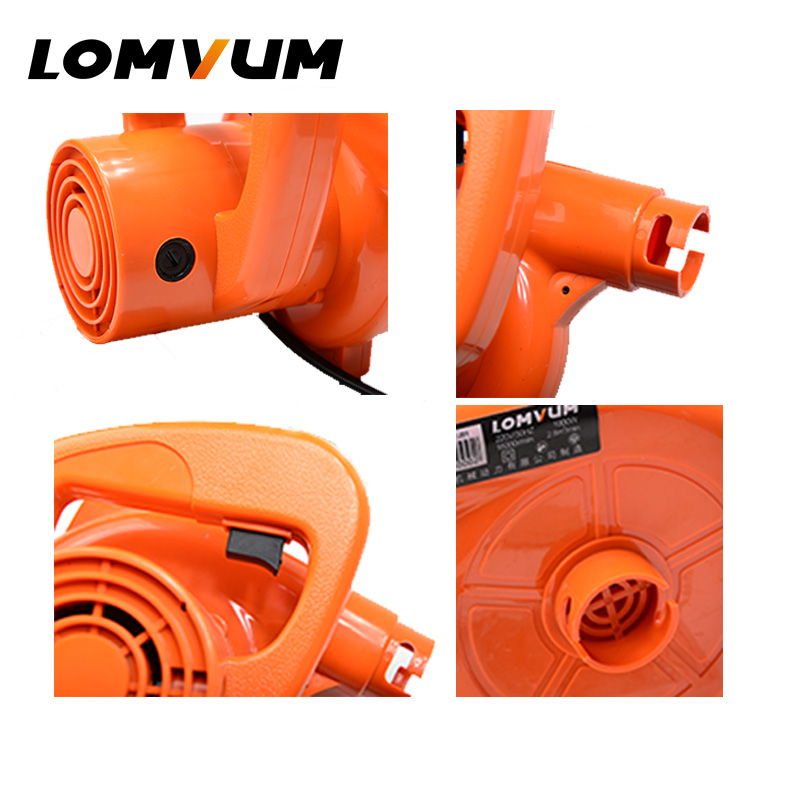 Image 5 - LOMVUM Air Blower 1000W Electric Air Blower Computer Cleaning Blower Dust Vacuum Cleaner Home Car Cleaner Mini Carbon Brush 220V-in Blowers from Tools on