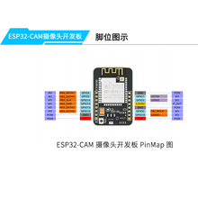 ESP32-CAM WiFi + Bluetooth Module Camera Module Development Board ESP32 with Camera Module OV2640 2MP