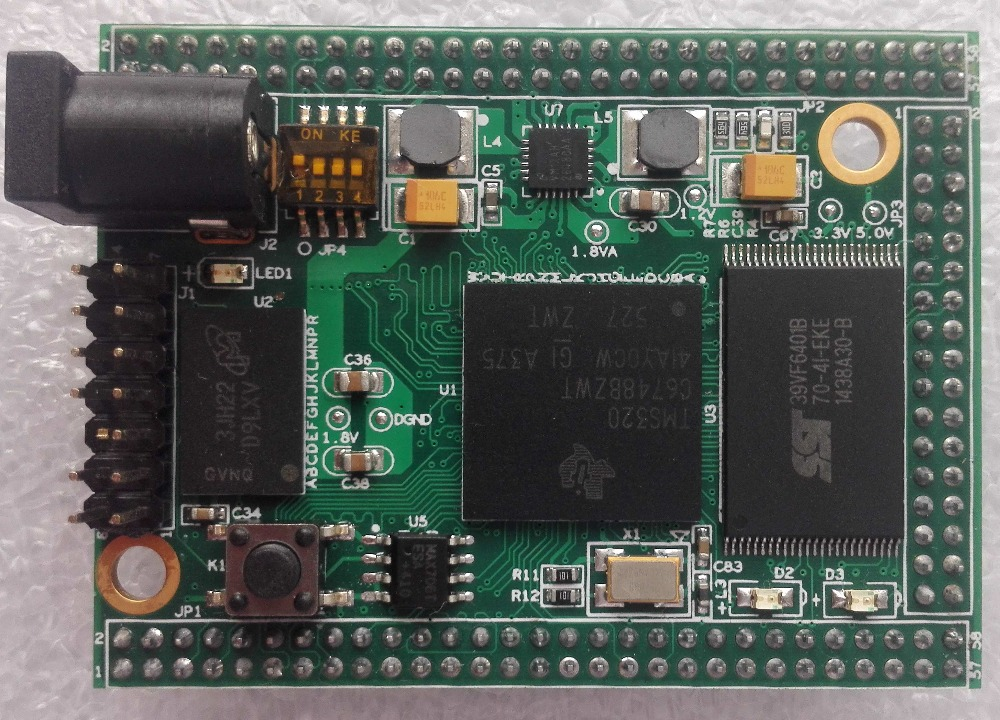 TMS320C6748 Core Board/DSP Development Board/Learning Board/Image Processing/Camera/Audio