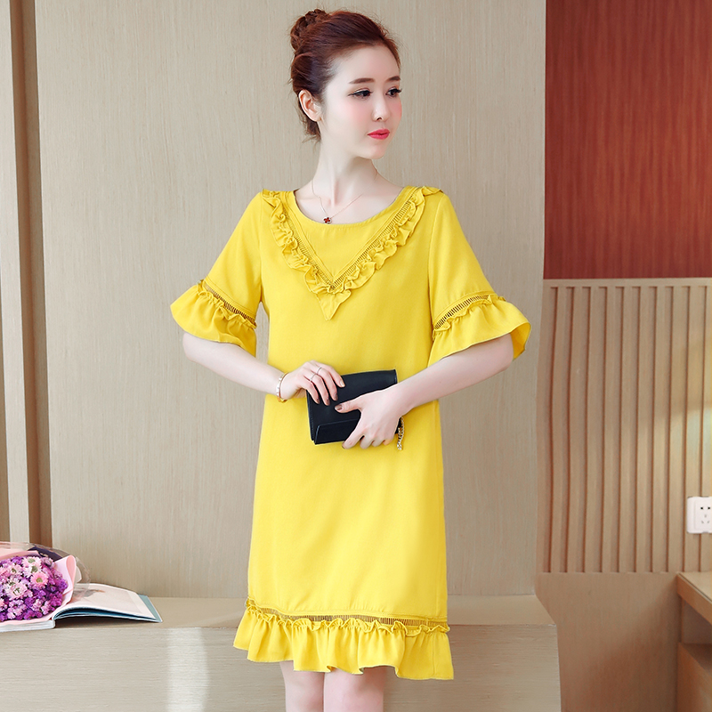 Summer Maternity Dress Patchwork Fashion Pregnancy Clothes Preppy Style Pregnancy Clothing Of Pregnant Women Cotton