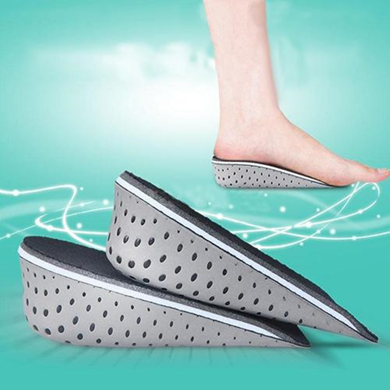 SANWOOD 2.3-4.3cm shoe insole Memory Foam height increase insole insert Sports Shoes Pad plantillas para los pies inlegzolenSANWOOD 2.3-4.3cm shoe insole Memory Foam height increase insole insert Sports Shoes Pad plantillas para los pies inlegzolen