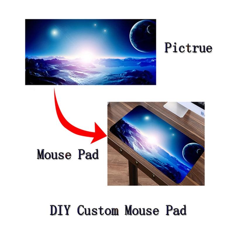 Siancs DIY Anpassad musmatta XL grande stor spel Mousepad spelgamer Anime sexig Japan Korea Anime tangentbord matta för gamer gåvor
