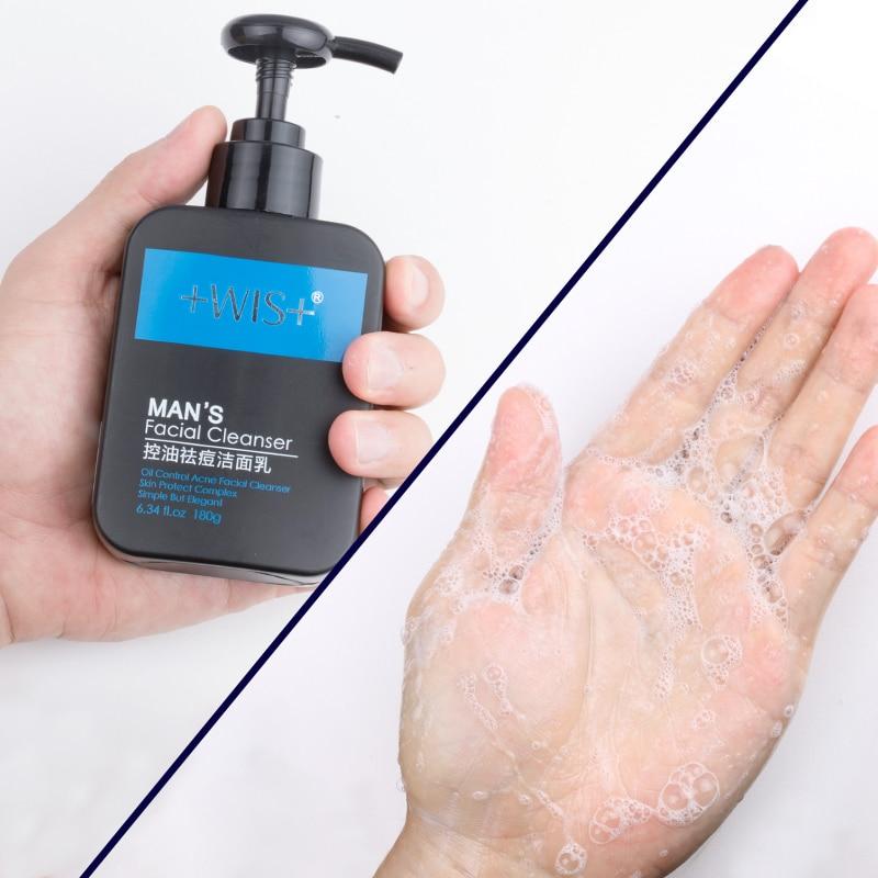 WIS activated carbon olie controle gezichtsreiniger diepe schone poriën Mee eter acne remover - 2