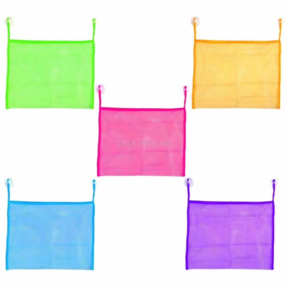 Baby Kids Bath Bathtub Toy Mesh Net Bag Bathroom #H055#