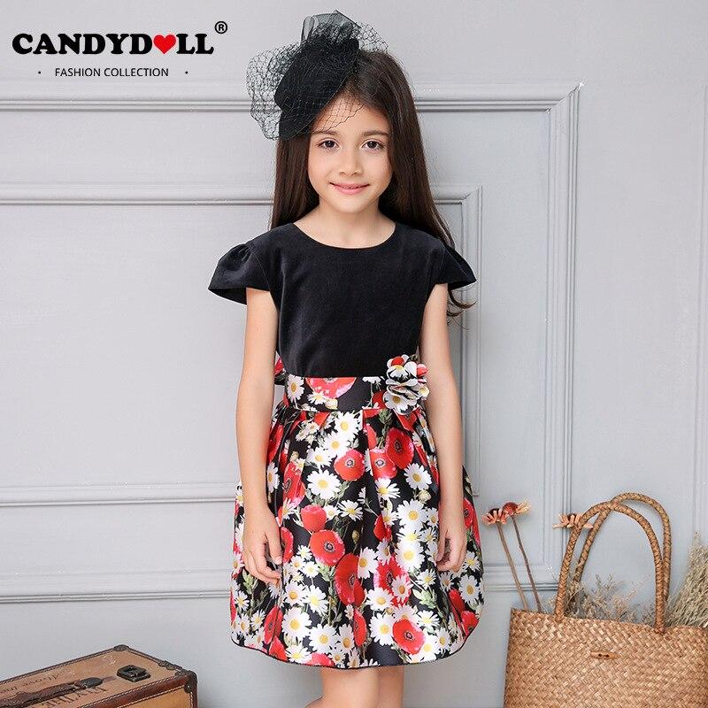 Candydoll Girls Dresses Children Girls Dresses Fashion
