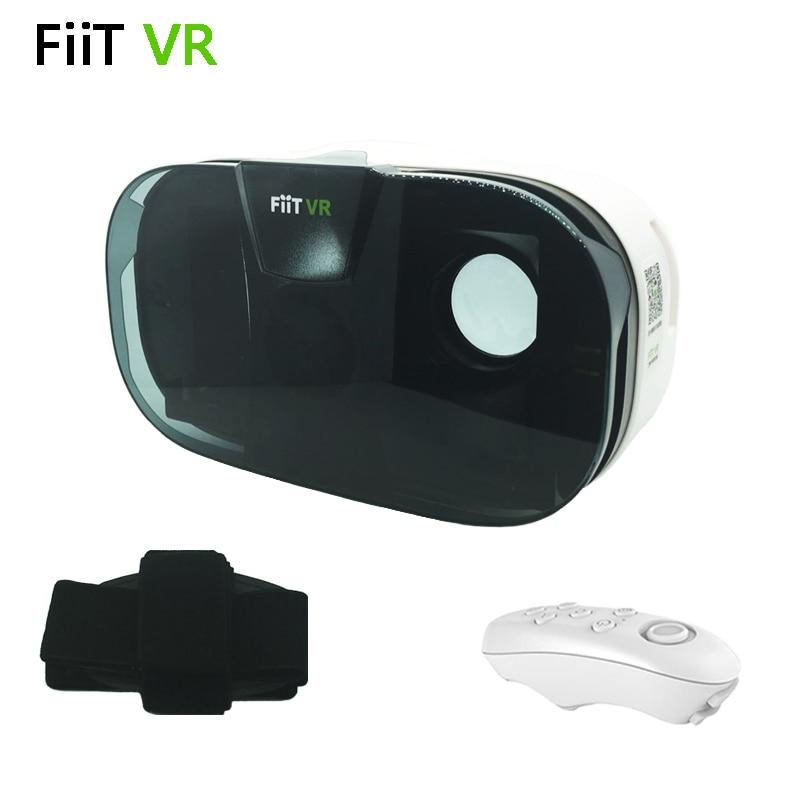 FIIT <font><b>VR</b></font> 2N Google Cardboard Version <font><b>Virtual</b></font> <font><b>Reality</b></font> 3D <font><b>Glasses</b></font> HD <font><b>VR</b></font> <font><b>Glasses</b></font> <font><b>VR</b></font> Box <font><b>VR</b></font> Park + White <font><b>Bluetooth</b></font> <font><b>Mouse</b></font> Gamepad