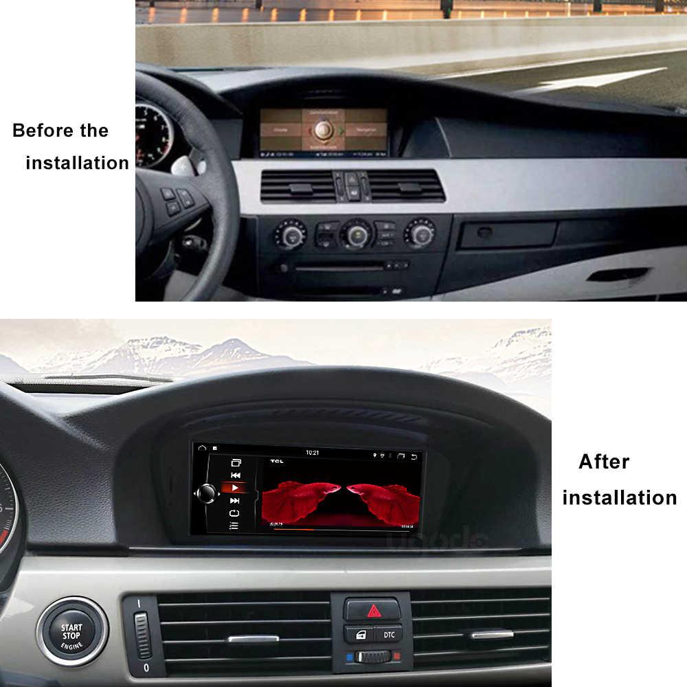 """Транспортное средство gps 8,8 """"Экран Android 8,1 gps навигации для BMW 5 серии E60 E61 2004-2010 CCC Системы Авто Видео Мультимедиа плеер"""