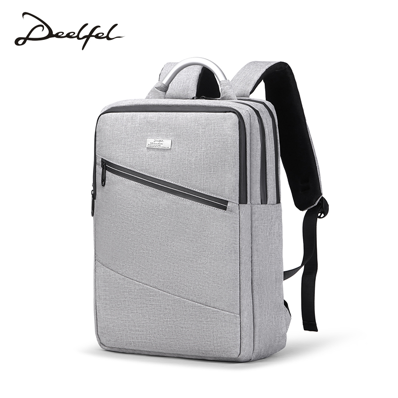 DEELFEL Brand Men Backpack Large Capacity Travel Bags Male Computer Bags Teengers Shool Bags Boys Oxford Backpack Men