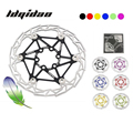 "1pcs Mountain Bike MTB Floating Disc Brake Rotor 160mm Ultralight 83g Alloy Bicycle 6"" Float Rotors Six Colors"