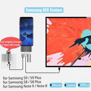 Image 3 - BFOLLOW 3 in 1 Dex Station for Samsung S8 S9 S10 Plus / Note 8 9 10 Pro Pad PD Adapter Type C to HDMI for Huawei
