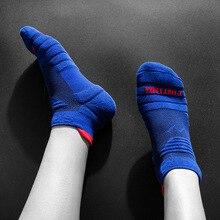 Lauf Socken Männer Basketball Atmungsaktive Anti Slip Sport Wandern Radfahren Wandern Frauen Outdoor Weiche Baumwolle Sportlich Keine Schweiß