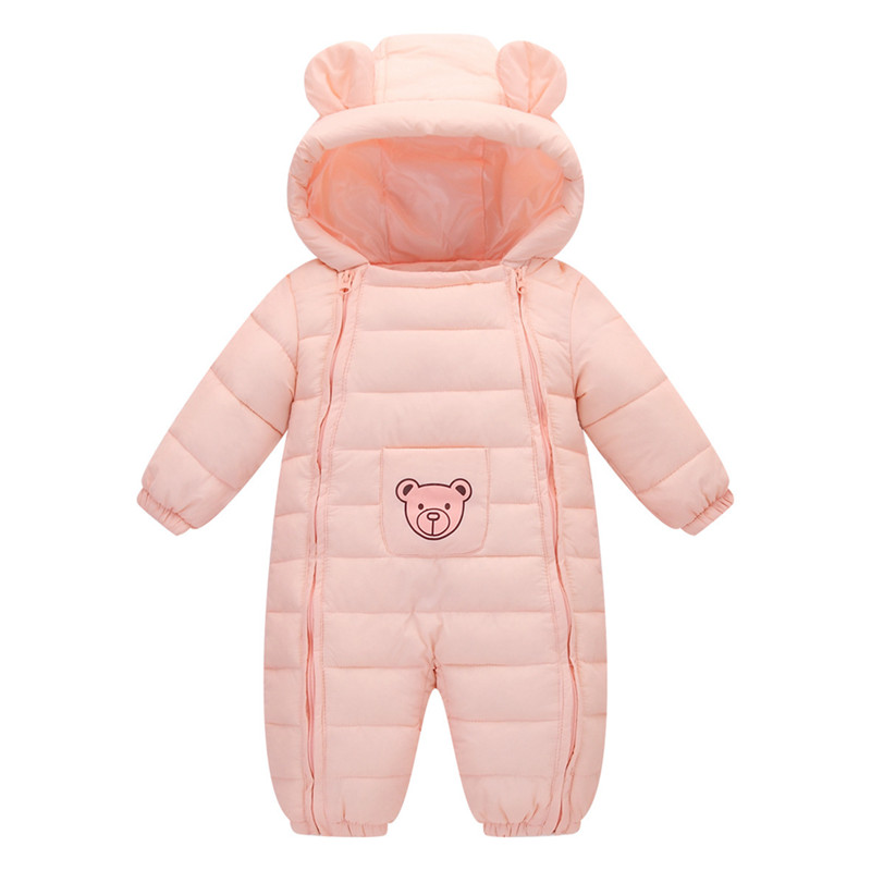 Baby Products Bebe Girl Bebe Boy Newborn Clothes Baby Costume Thick Warm Infant Baby Rompers Kids Winter clothes Jumpsuit Hooded цены