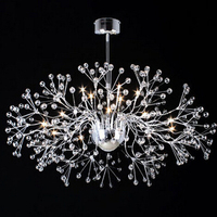 beautiful design modern crystal ceiliing lamps for living room