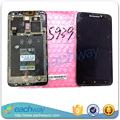 For Lenovo S939 LCD Display Touch Screen Digitizer Assembly With Frame Replacement Parts