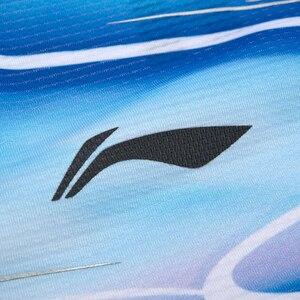 Image 4 - لى نينغ الرجال الريشة تي شيرت للفريق الوطني في الجافة تنفس بطانة لي نينغ المنافسة الرياضية تي شيرت AAYP065 MTS3083