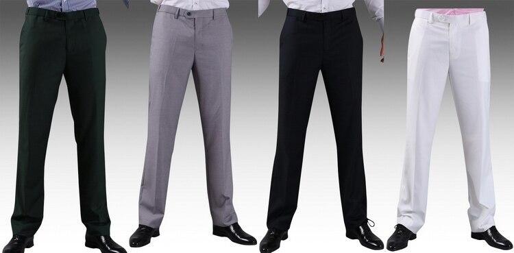 2016 Formal Wedding Men Suit Pants Fashion Slim Fit Casual Brand ...