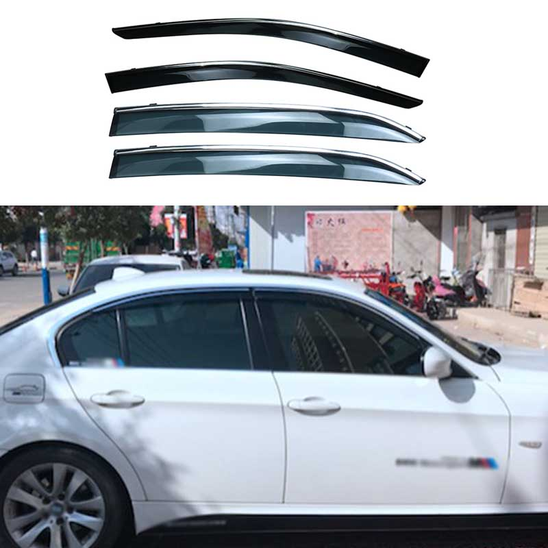 Ventshade Kit Window Visor Front /& Rear Driver Passenger Side KIT-171116-543