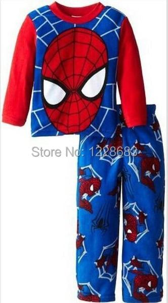 New 2015 Boys Girls <font><b>Spiderman</b></font> Pajamas, Roupa Homem Aranha Menino, Spider For Baby Pijama Homem Aranha <font><b>Infant</b></font> <font><b>Spiderman</b></font> <font><b>Costume</b></font>