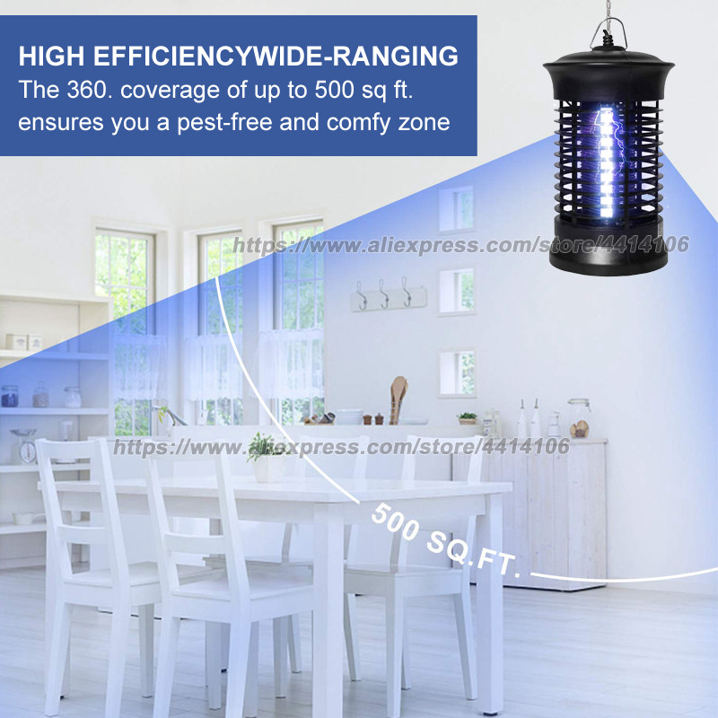 BK 15D Electronic Upgraded Mosquito Killer Bug Zapper with Hook mosquito eradicator in Traps from Home Garden