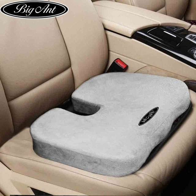 Coccyx Orthopedic Comfort Memory Foam Seat Cushion For Back Pain And Sciatica Relief