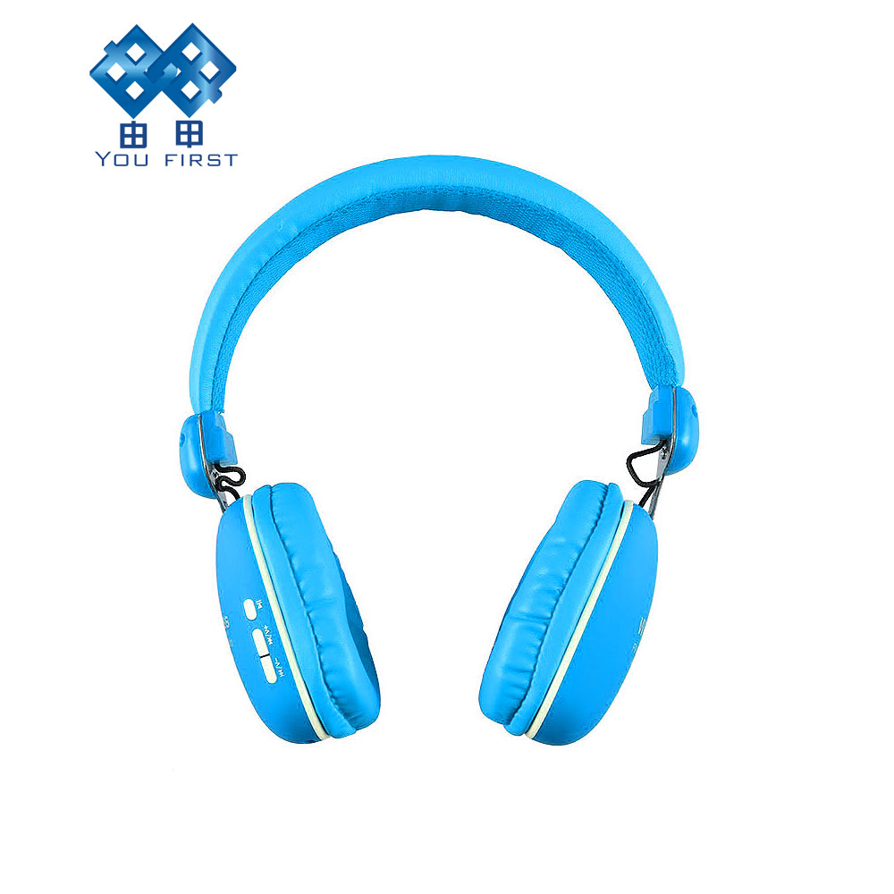 YOU FIRST Bluetooth Wireless Headphones TF Card 3.5mm AUX-IN Port FM Radio for iPhone 4 5 6 7 Samsung LG Huawei Xiaomi 7 hd 2din car stereo bluetooth mp5 player gps navigation support tf usb aux fm radio rearview camera fm radio usb tf aux