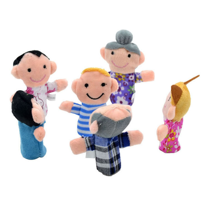 Happy-Family-6pcslot-Family-Members-Finger-Puppets-Baby-Infant-Early-Educational-Plush-Toys-2