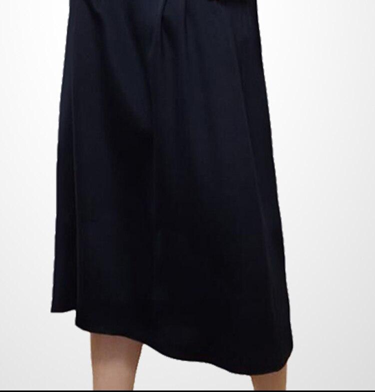 Haute À Automne Manches Mode longueur Robes Mince Patchwork Picture Casual Nouvelle S Color O C2544 Robe 2xl cou Longues Femmes Qualité 2018 Genou rOW6wrqPg